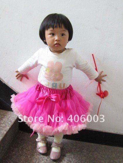 ; мягкая Пышная юбка-американка из нейлона; ярко-розовая юбка; 5 шт./партия