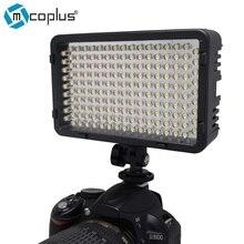 Mcoplus 168 unids led luz de vídeo-cámara fotográfica fotografía de iluminación para canon nikon sony videocámara de la cámara dv vs cn-160