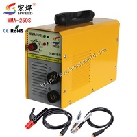 Inverter Weld Mini Dc Inverter Welding Machine MMA250S Inverter Welder Inverter Kaynak Makinesi With Accessories