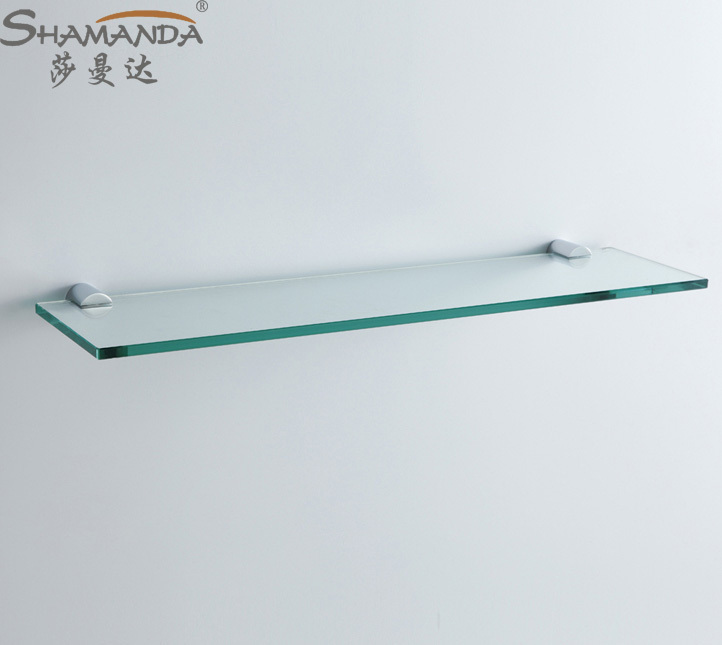 Aliexpress.com : Buy Free Shipping Single Bathroom Shelf/glass Shelf,Brass  Made Base+glass Shelf,Bathroom Hardware,Bathroom Accessories 96024 From  Reliable ...