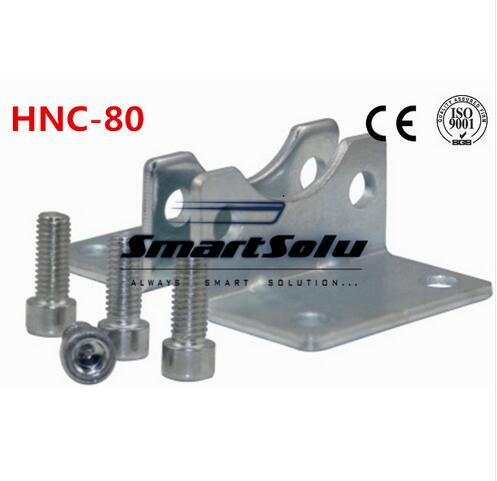 Free Shipping 5pcs/lots ISO6431 cylinder accessories HNC-80, the foot rack installation, DNC, SE, SI cylinder accessories morais r the hundred foot journey