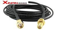бесплатная доставка 3 м беспроводной антенну РП-SMA кабель-del для беспроводной маршрутизатор с крыльца пакет cos кабель