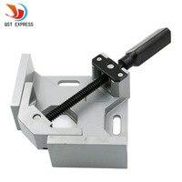 Single handle 90 degree angular splint Angle clip Carpenter pliers Photo frame clamp Aluminum alloy clamp Free Shipping