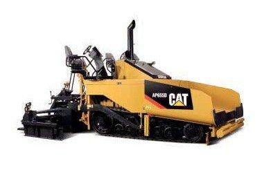 N-55227 1:50 кошка AP655D асфальт игрушка-бетоноукладчик