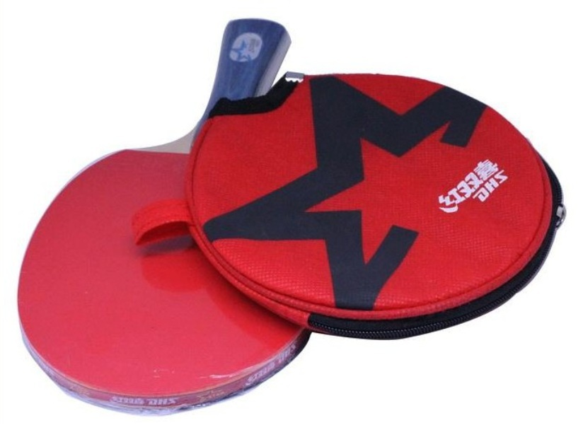 PingPong Racket Double Happiness Table Tennis Racket 4002/4006 Ping Pong  Table For Long Handle Or Short Handle Table Tennis BatUSD 27.62/piece