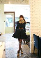 зима пламя женщин с зима кашемировые пальто с мех колла однобортный шерсть большой размер с мл хl л-008