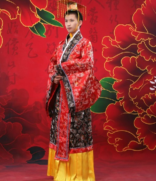 2a2a3160d Ancient Chinese Qing Dynasty Emperor Yongzheng Robe Costume TV Play  BubuJingxin Emperor Costume