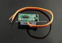 """f728b 5 шт./лот 0 ~ 100 в постоянного тока цифровой дисплей вольтметр три красный 0.36 """" из светодиодов вольтметр"""
