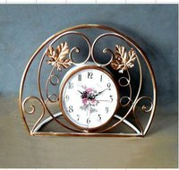 железо ремесла европа стиль часы железо ремесло обе стороны часы для дома decoration04