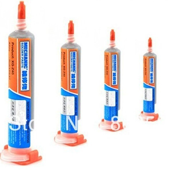 10pcs/lot 10cc MECHANIC Solder Paste XG-Z40 solder flux fpr bga repair,free shipping 10pcs free shipping it8517vg hxs bga