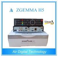 2ピース/ロット新しいモデルでBCM73625デュアルコアdvb-s2 +のdvb-t2/cハイブリッドチューナーzgemma h5 h.265 hevcコンボ受信機