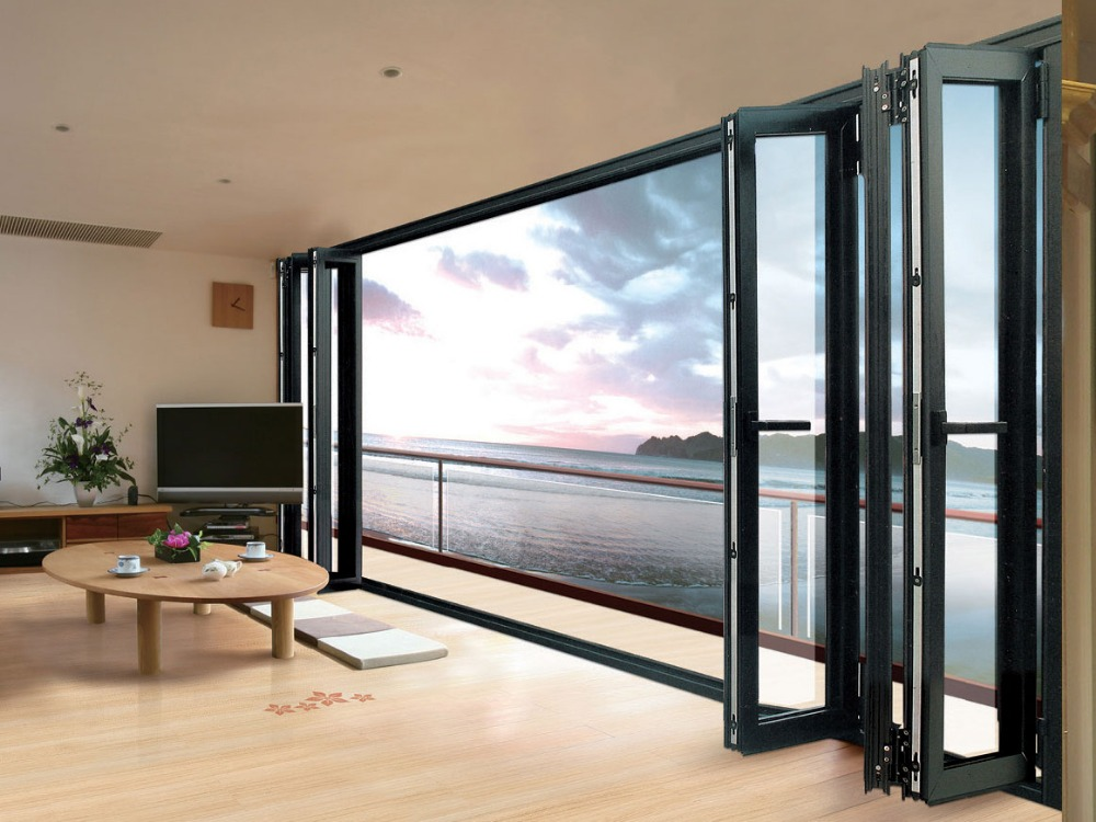 Guangzhou aluminum double glazed top hung window and doors for Aluminium glass windows and doors
