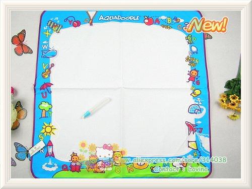 Большой размер 80*56& 75*75 см Американский коврик для рисования водой каракули Мат и 1 волшебная ручка