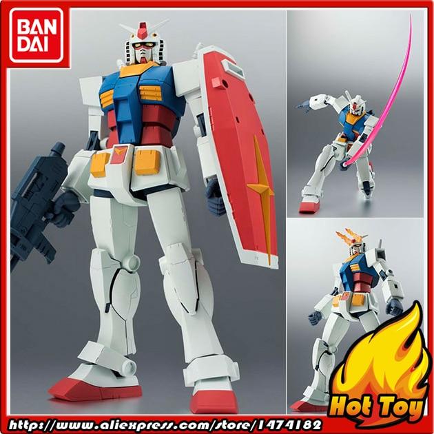 100 Original BANDAI Tamashii Nations Robot Spirits Action Figure No 192 RX 78 2 Gundam ver