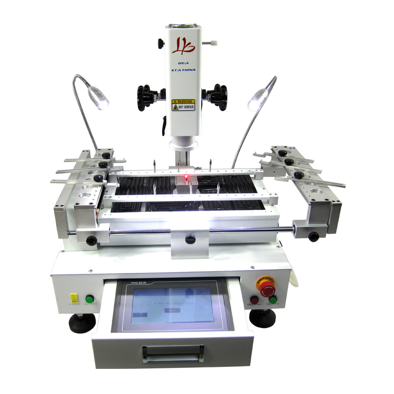 NEW LY R690 V.2 BGA Rework Station 3 zones hot air touch screen with laser point 4000W EU plug, no tax to Russia