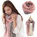 1 unid moda Dots bufanda mujer grandes bufandas largas de la gasa mantones Wraps Foulard Femme 165 * 80 cm ZZ3397