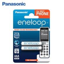 Panasonic BK-4MCCE/2DE Аккумуляторы eneloop 750 мАч AAA DECT BL2. Оптимальное сочетание высокой емкости и большого количества циклов заряд / разряд – до 2 100 раз. Сохраняют до 70% энергии после 10 лет хранения.