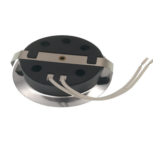 Image 2 - 50 pz 1.5 W 12 V HA CONDOTTO LA luce del punto faretto da incasso freddo bianco caldo Acciaio Inox armadio da cucina armadio vetrina giù la lampada