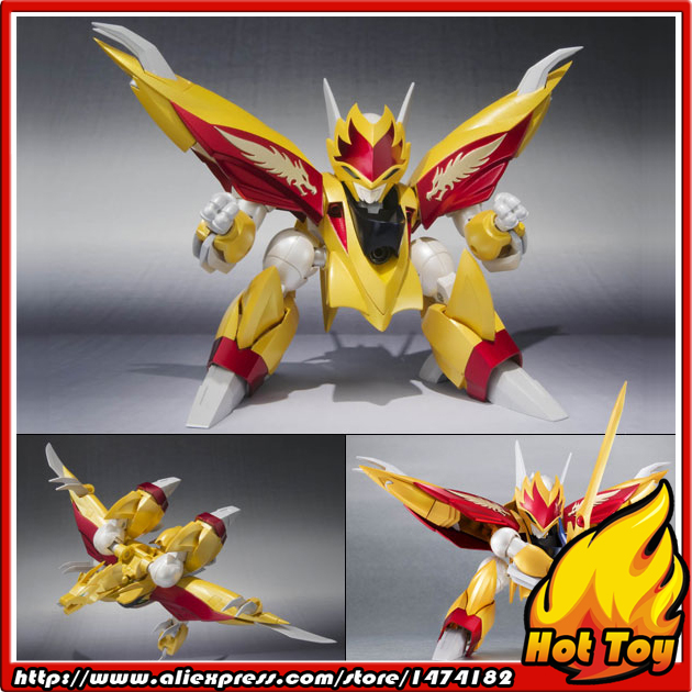 100% Original BANDAI Tamashii Nations Robot Spirits No.147 Action Figure - Ryuseimaru from Mashin Hero Wataru 2 original bandai tamashii nations robot spirits exclusive action figure rick dom char s custom model ver a n i m e gundam