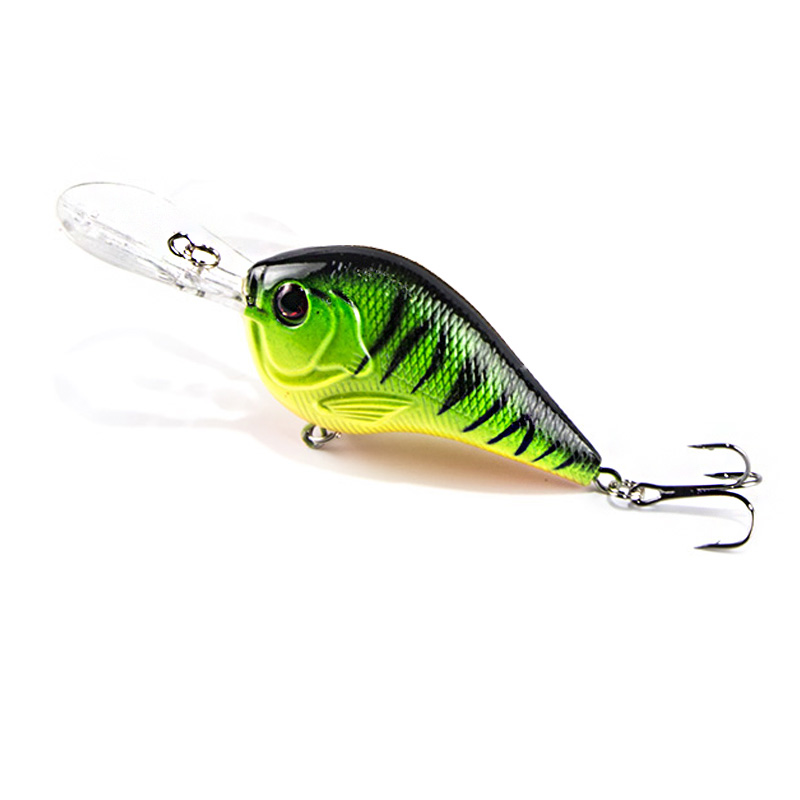 Fishing Lure 9.5cm 11g Hard Plastic Deep Swimming Crankbait Wobblers Slow Floating Fishing Bait swimbait