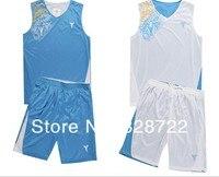 оптовая продажа известный баскетболист реверсивные мужской джерси спортивная одежда - синий и белый в порядке