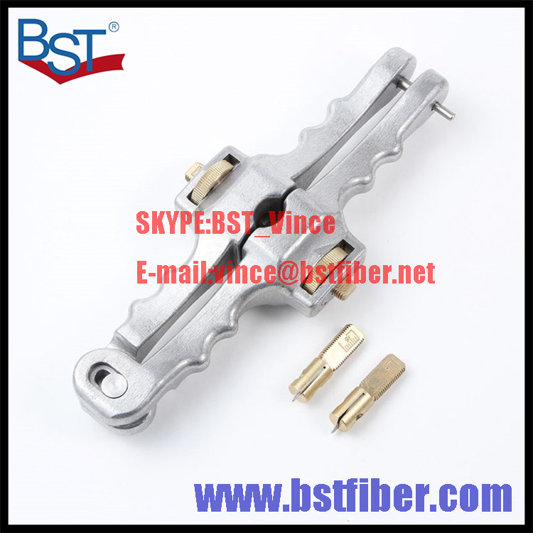 Fiber Optic FTTH Tool Optical Cable Stripper Longitudinal Opening font b Knife b font Longitudinal Sheath