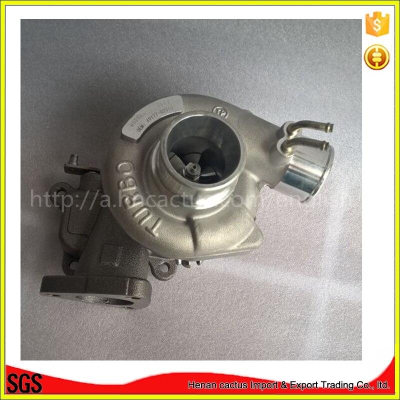 電気td04ターボ充電器キット49177-02510 49177-02511 md155984用mitsubishi montero l200 l300 l400パジェロ1991-4d56q 2.5l