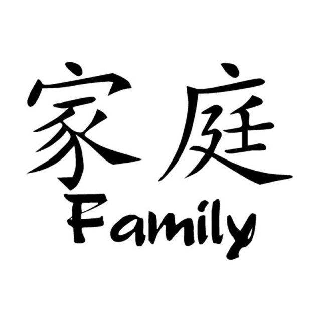 Chinese family of scripts