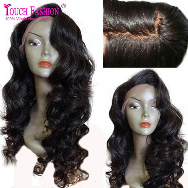 2017 New Arrival 5*4.5 Silk Top Full Lace Wigs Virgin Peruvian Natural Hairline More Breathable Silk Base Lace Front Human Wigs