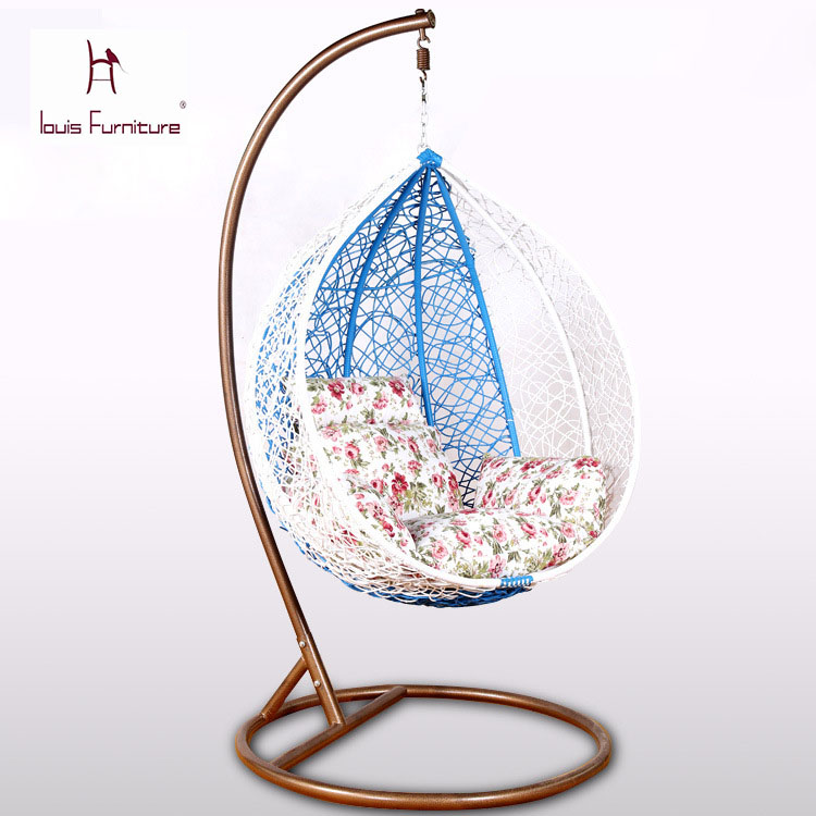 chair Hanging basket cane indoor outdoor leisure furniture  single chair  for garden outdoor soft. Compare Prices on Hanging Garden Furniture  Online Shopping Buy