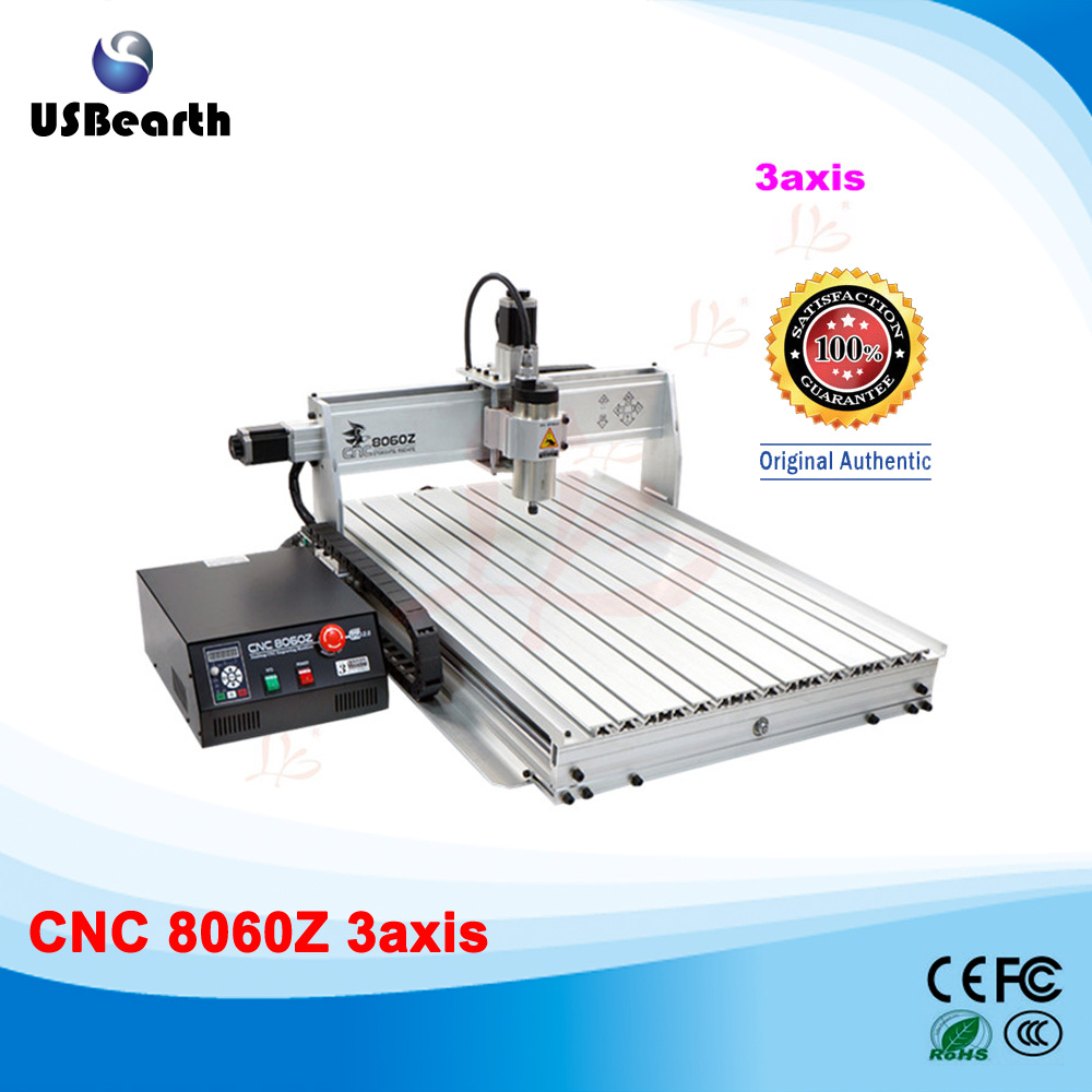 Newest and high tech USB mini cnc router 8060Z-USB1500W mini cnc milling machine high tech and fashion electric product shell plastic mold