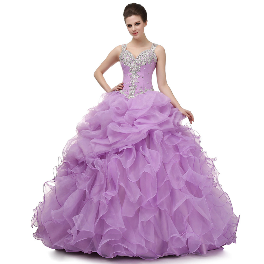 Debut Purple Ball Gown Promotion-Shop for Promotional Debut Purple ...