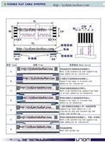 Кабель для передачи данных FFC 1.0 6pin 100 TTL LCD DVD AWM 80C 60 vw/1
