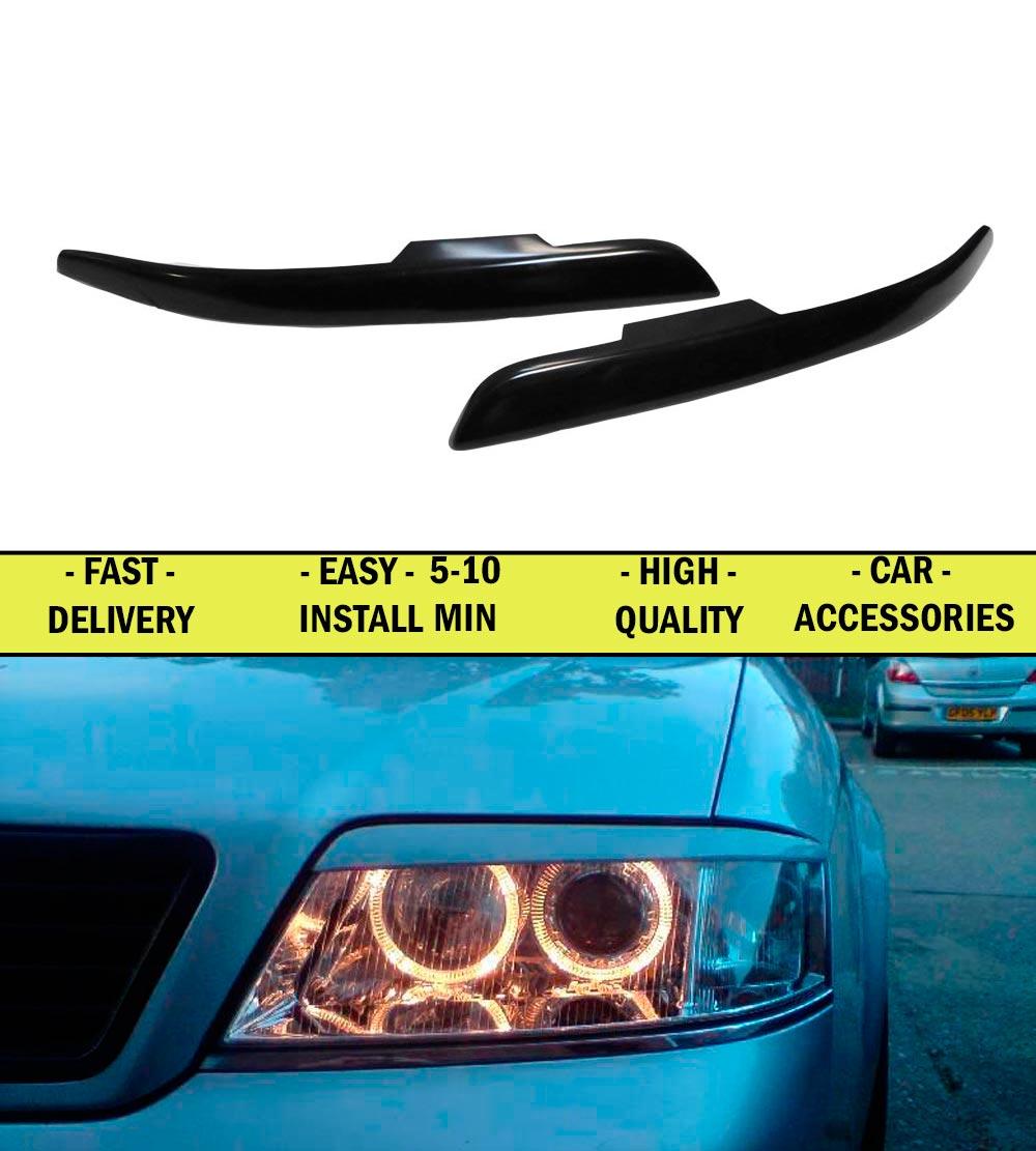 ⑧Cilios cejas para Audi A6 1997-1998-2000-2004 plástico ABS ...
