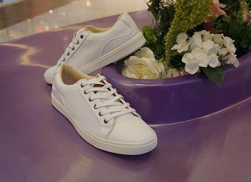 Latest style Men s font b Shoes b font Flats font b Boys b font White