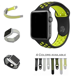 URVOI band for NIKE + apple watch series 1 2 with Light Flexible Breathable silicone strap for Nike sport band official colors