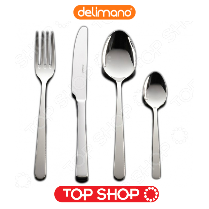 Buy Flatware Set Delimano Astoria Cutlery