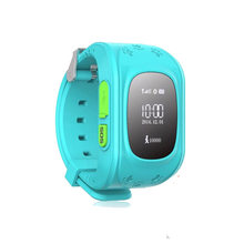 Anti Lost GPS Tracker Watch For Kids SOS GSM Smart Phone App For IOS & Android MTK 6261 364MHz Smart Watches Children