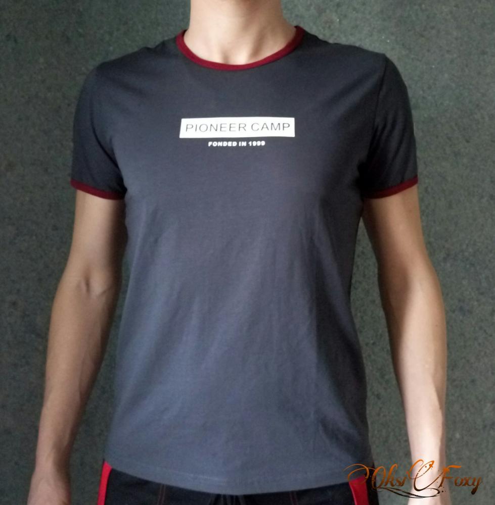 Мужская футболка PIONEER CAMP с Алиэкспресс