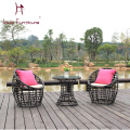 Fashion as the bird's nest cany chair chair balcony basket chair framework three-piece leisure chairs cafe bars double digits