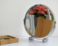 в круглый высокого класса furnishing7inch зеркало-сторонней стол зеркало в ванной european360 градусов вращающегося зеркала