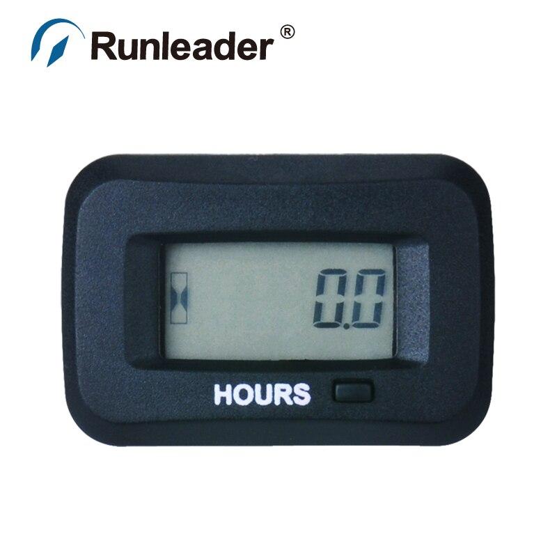 Digital Gas Meter : Aliexpress buy rl hm runleader digital hour meter