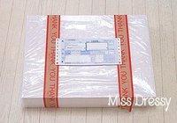 оптовая продажа бесплатная доставка платье-линии шоколад с V-образным вырезом створки-сатин дешевые клиент-сделано - подружки платье подружки невесты 6 шт. много м g009879 и