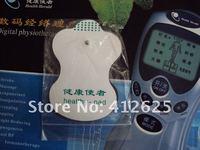 20 шт. / лот белый электрода колодки для иглоукалывания, массажер для похудения, цифровой терапия машина массажер