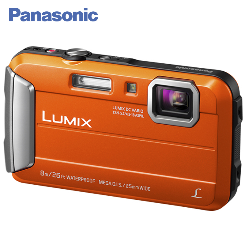 Panasonic DMC-FT30EE-D Digital Camera Built-in Memory 220 MB MEGA O.I.S. Filter effects Record video in MP4 HD format