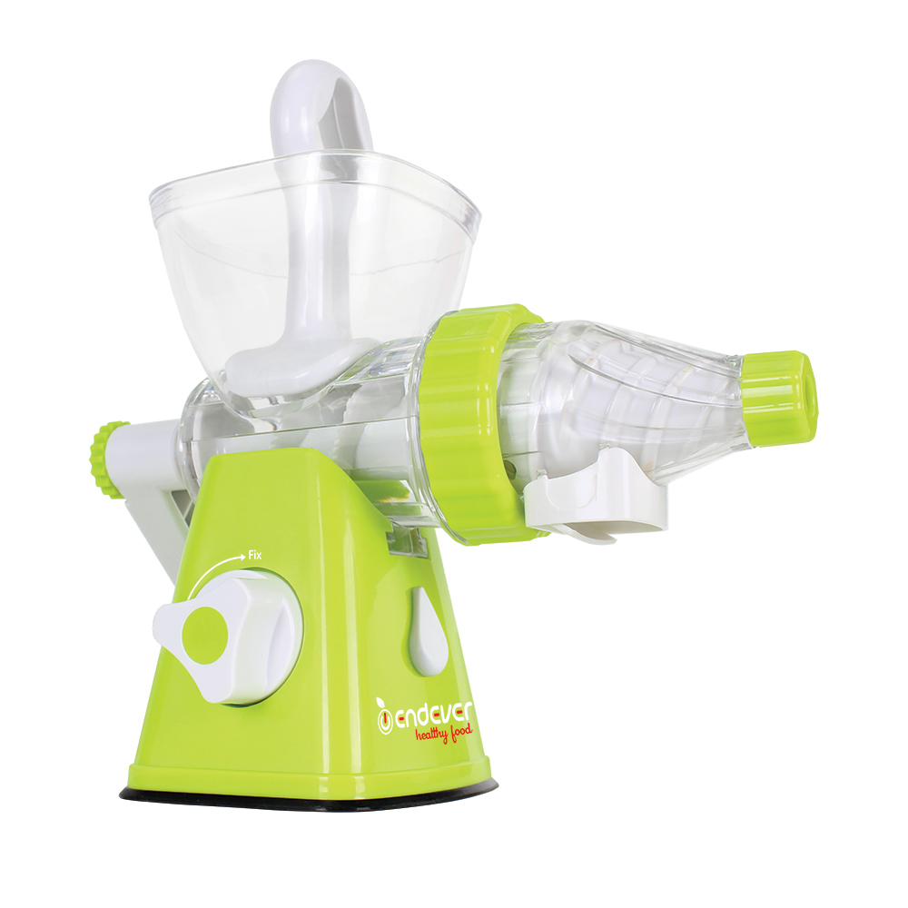 Hand juicer Endever Skyline HJ-007 stainless steel manual juicer wheatgrass healthy juicer