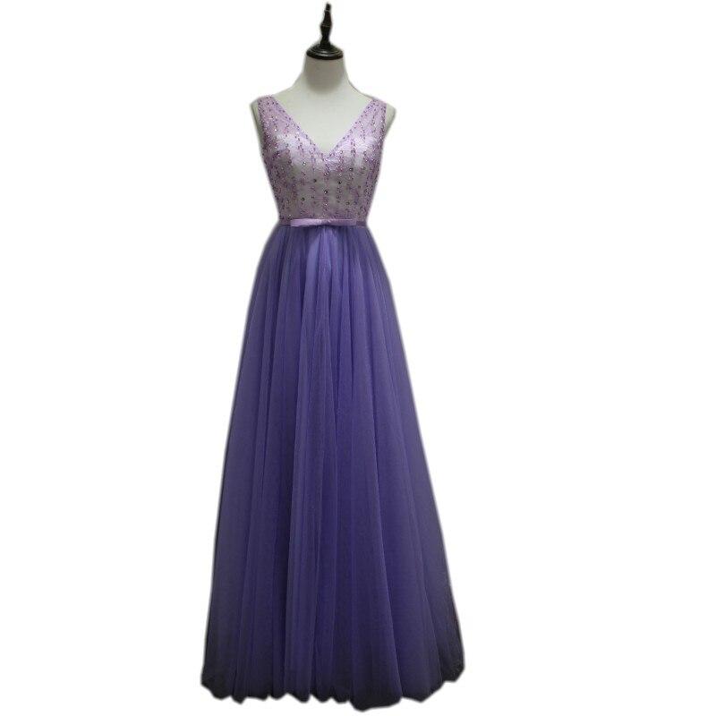 Vraie Photo 2019 paillettes rose robes col en v Aqua vert robes de bal Top Satin bordeaux robes de bal UK pas cher longue robe de bal