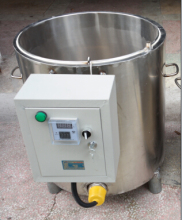 50kg /hour beeswax melting machine/paraffin melter/warmer machine