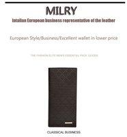 бесплатная доставка + на чаевые бренда milry 100% харьяна натуральная кожа мужчины кошелек зажим для денег в c0182