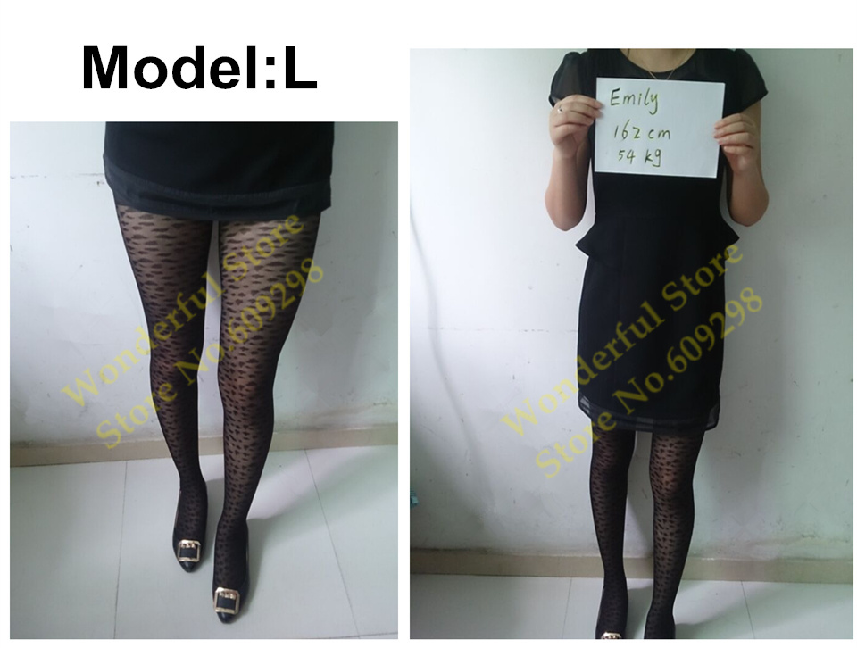 Sexy Pantyhose Tights Women Female Stockings Fashion Thin Sheer Long for Spring Fall Multi Pattern Free Shipping (10)